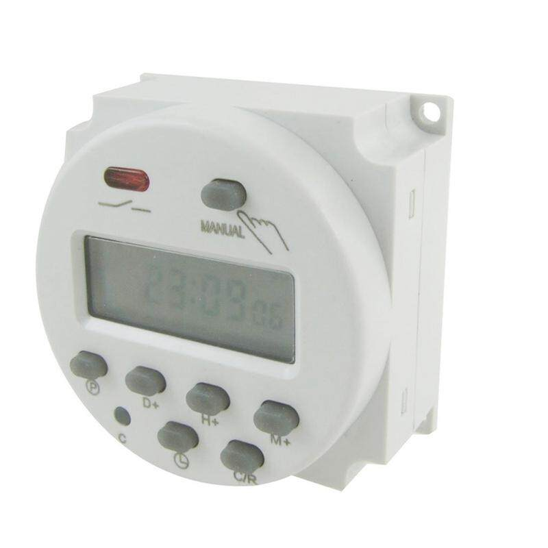 DC 12V Digital LCD Power Programmable Timer Time Switch Relay 16A Amps