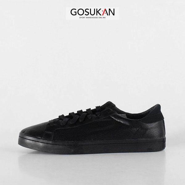 new styles 90e74 d374a adidas Unisex Originals Court Vantage Sneakers Black (S76195) N5