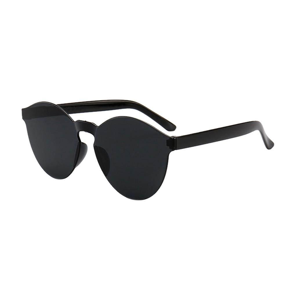 72988f82c31b Women Men Fashion Clear Retro Sunglasses Outdoor Frameless Eyewear Glasses