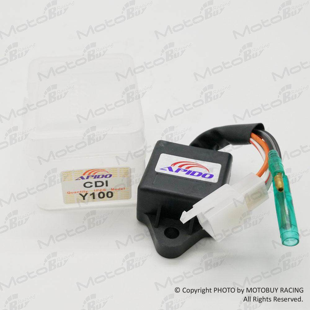Yamaha Y100 Cdi Unit (apido High Performance) No Cut Off By Motobuy Racing.