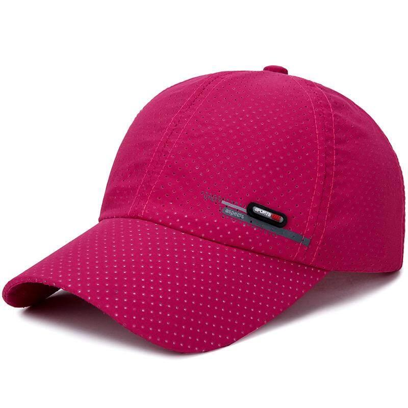 47025d1a77629 Men s Summer Breathable Adjustable Mesh Hat Quick Dry Cap Outdoor Sports  Climbing Baseball Cap