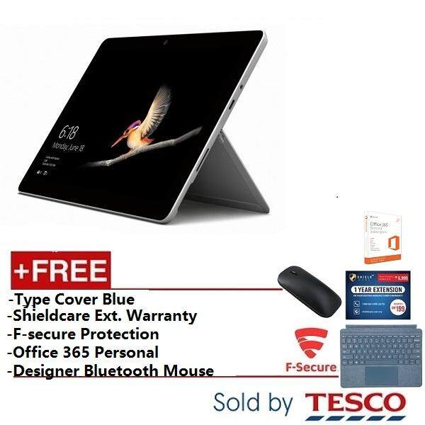 Microsoft Surface Go (MCZ-00012) Pentium / 8GB / 128GB / Type Cover Teal + Ext. Warranty + FSecure + Office365 Personal + Designer Mouse Malaysia