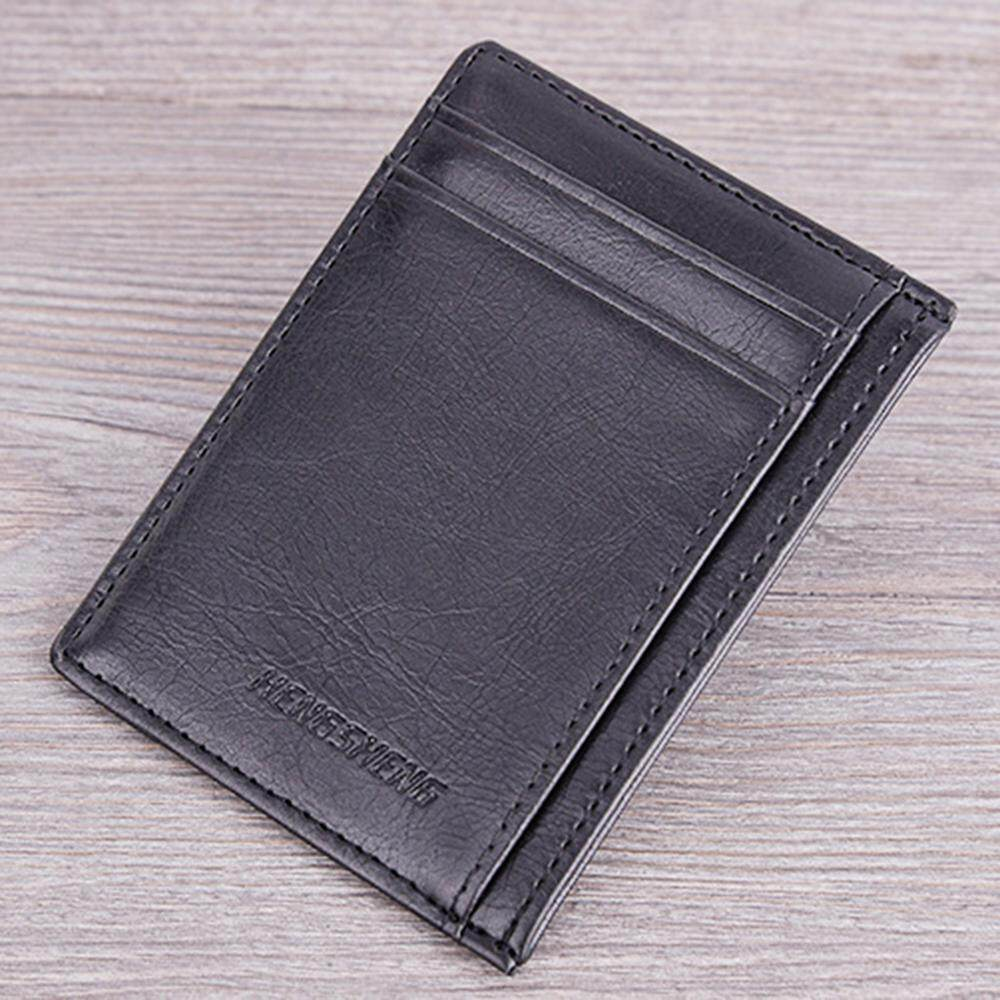 Fashion Men/'s Leather Wallet Slim Credit ID Card Holder Coins Purse Pocket Gifts