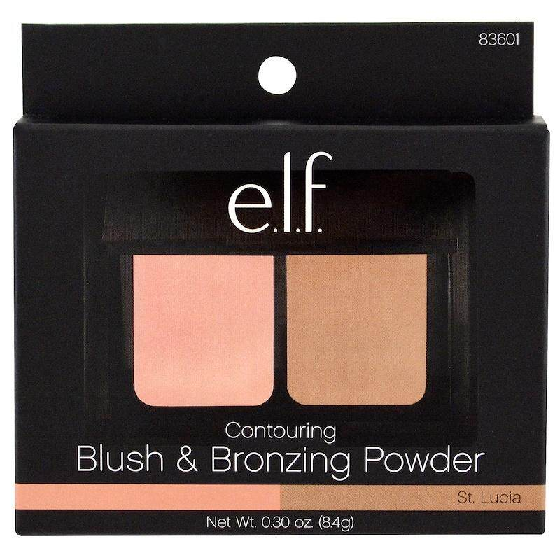 E.l.f. Cosmetics, Contouring Blush & Bronzing Powder, St Lucia By Ennai Makeup Shop.