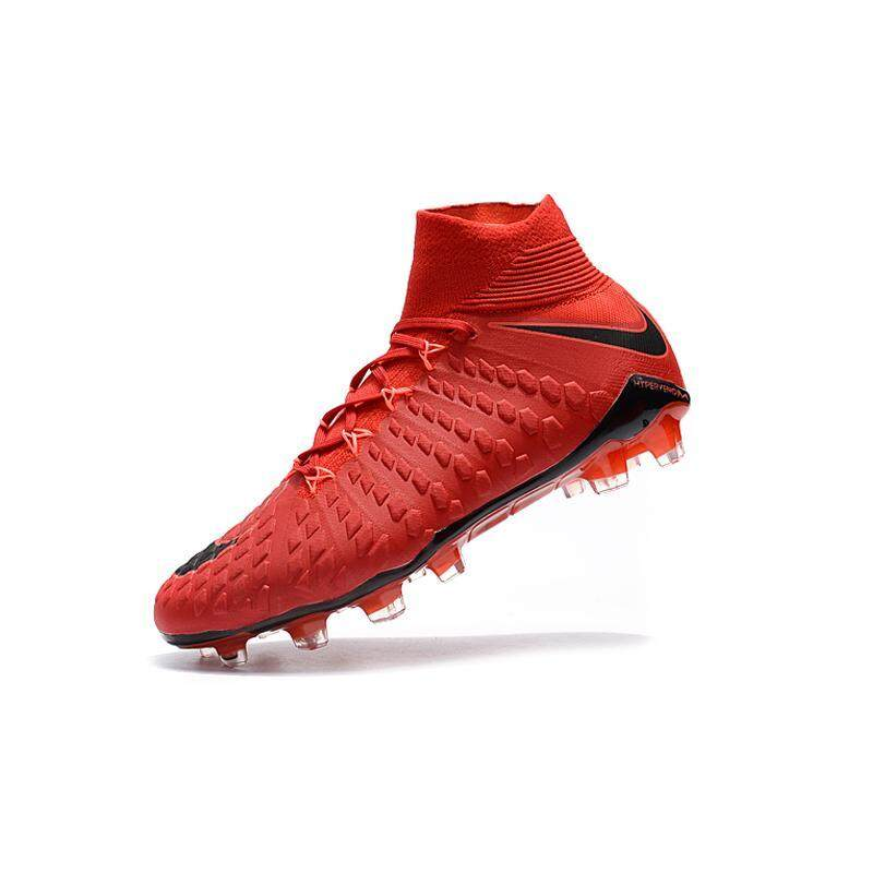 newest 31f83 ca428 2019 New High Ankle Football Boots Hypervenom Flare Football Shoes Adult  Men's Soccer Shoes Original Football Training Sneakers Professional Phantom  ...