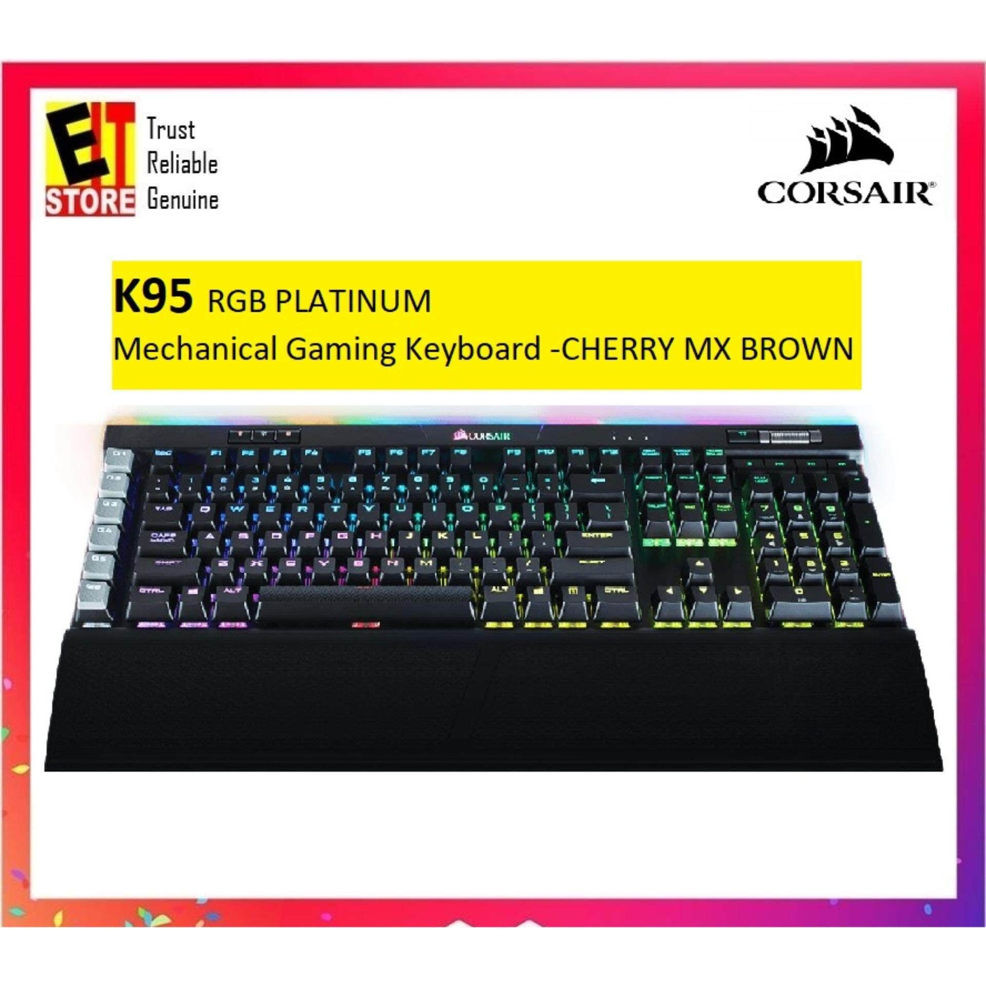 Corsair Computer Accessories Keyboards Price In Malaysia Best Mechanical Keyboard K65 Rgb Red Switch K95 Platinum Cherry Mx Brown Ch 9127012 Na