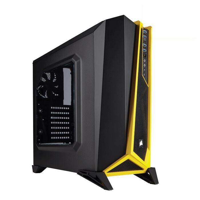 [CAS]Corsair Carbide Spec Alpha Mid Tower ATX Case - Black/Yellow Malaysia