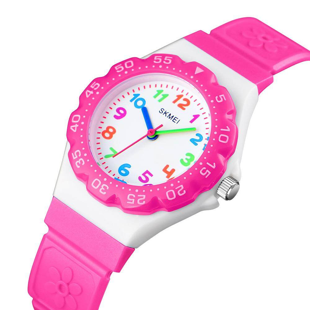 Skmei Kids Watch Sport 50m Waterproof Quartz Wrist Watches for Boys Girls Children Student 6 7 8 9 10 11 12 years old Malaysia