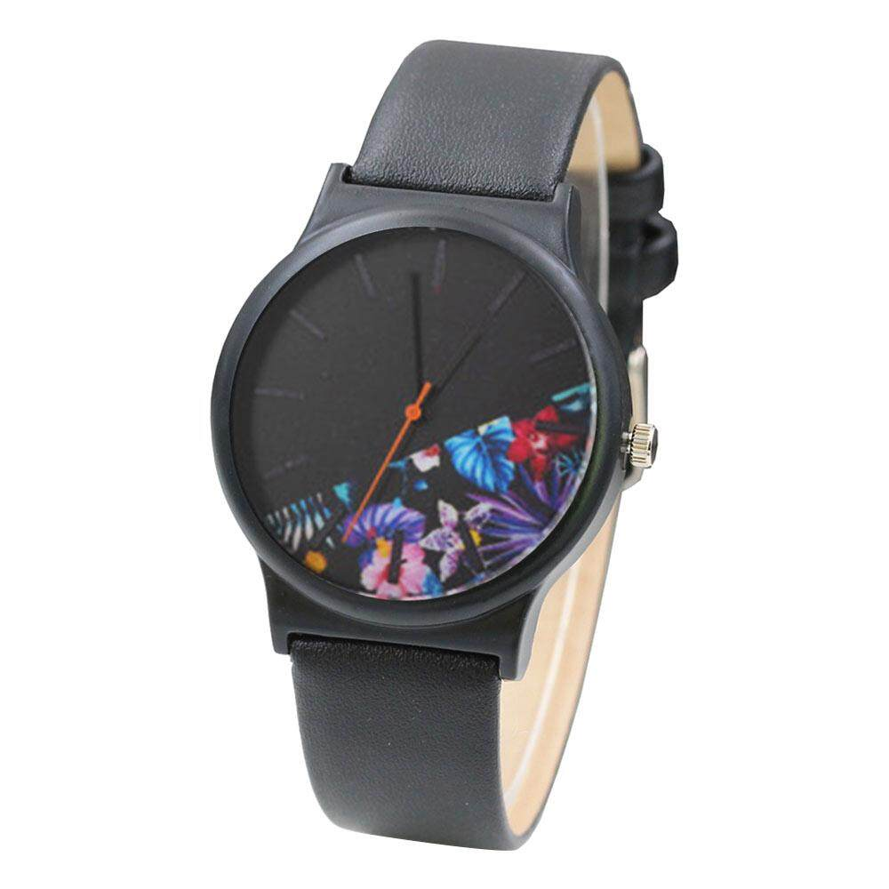 Fashion Women Leather Analog Quartz Sport Wrist Watch Hot Sale Malaysia