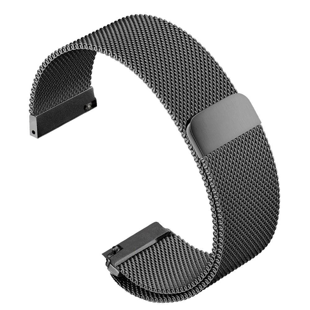 Fashion Portable Replacement Watchband Stainless Steel Watch Band Strap for Samsung Gear S3 Classic Frontier Model Smart Watch Black Malaysia