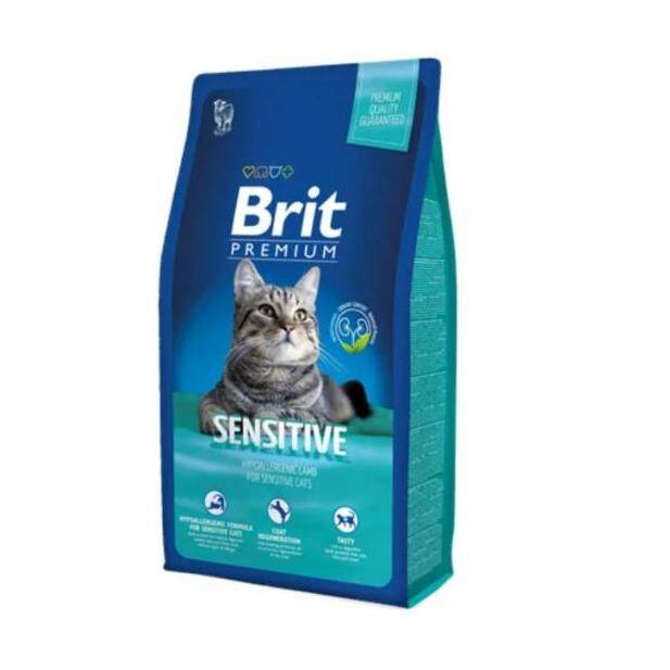 Brit Premium Cat Sensitive - Lamb (1.5kg) By Malaysia Petshop.