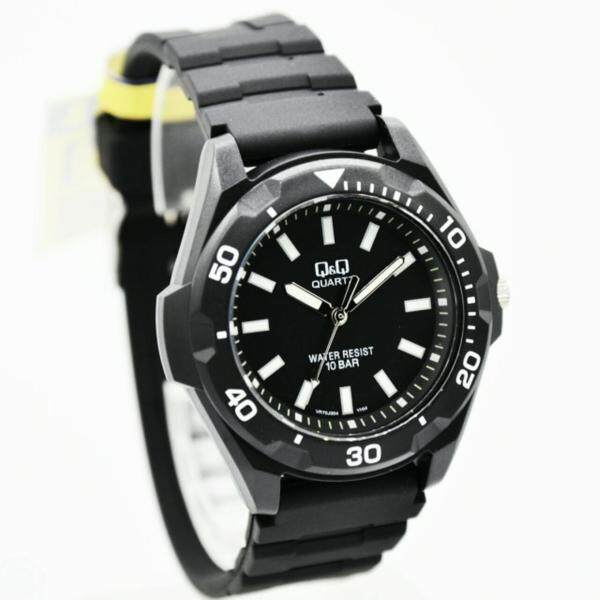 [1 YEAR WARRANTY] Q&Q MEN Watch by Citizen VR70J004Y Analogue SPORTS BLACK Malaysia