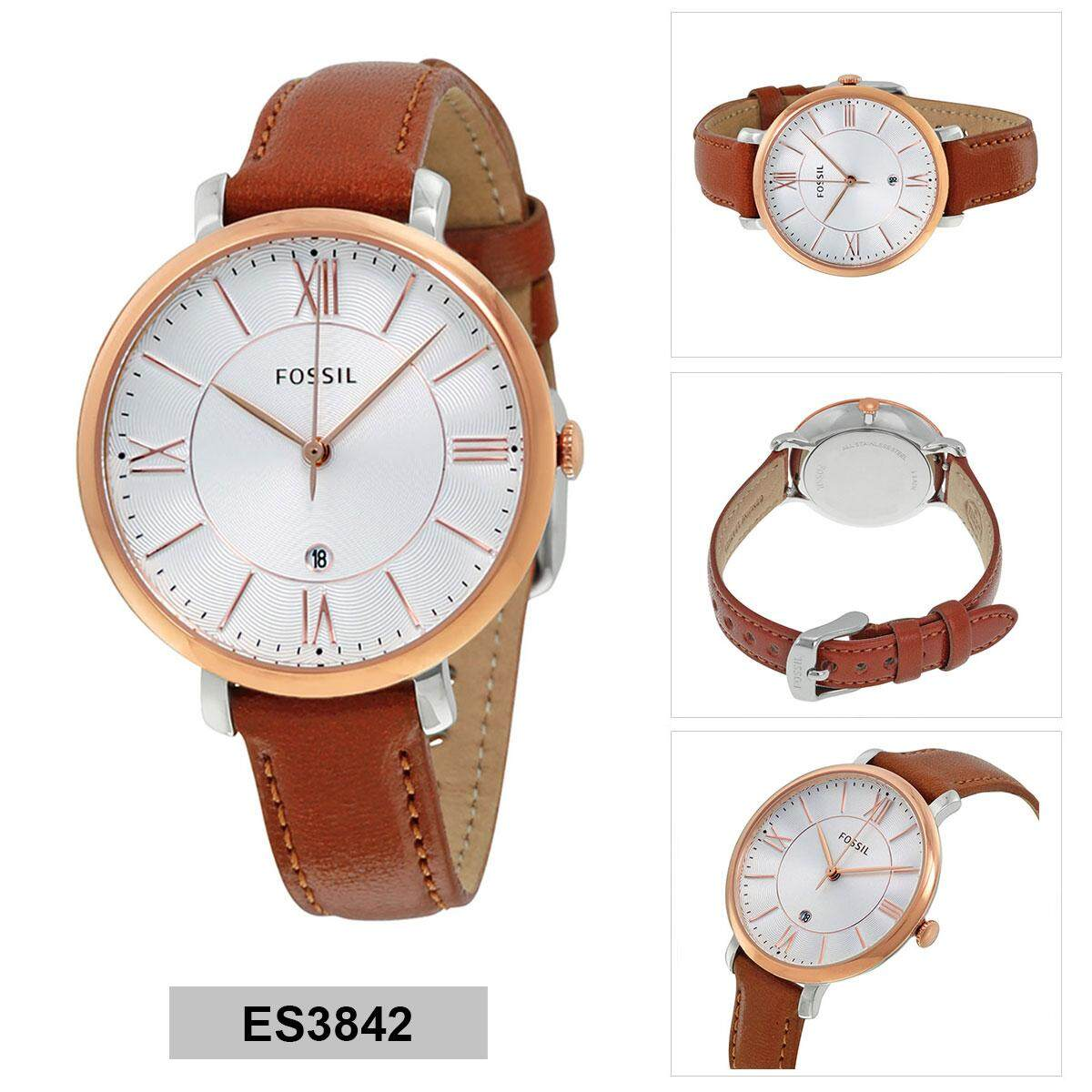 Sell Fossil Es4151 Jacqueline Cheapest Best Quality My Store Three Hand Graystone Leather Watch Es 4096 Es3972 Black Analog Ladies Watchmyr299 Myr 299