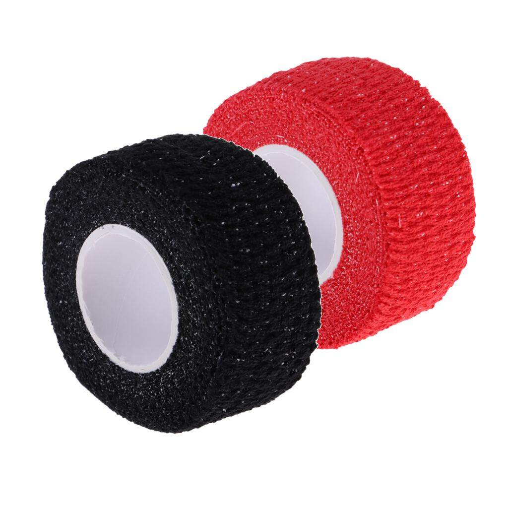 Miracle Shining 2 Pieces Anti-Skid Adhesive Golf Golfer Finger Wrap Grip Compression Tape By Miracle Shining.