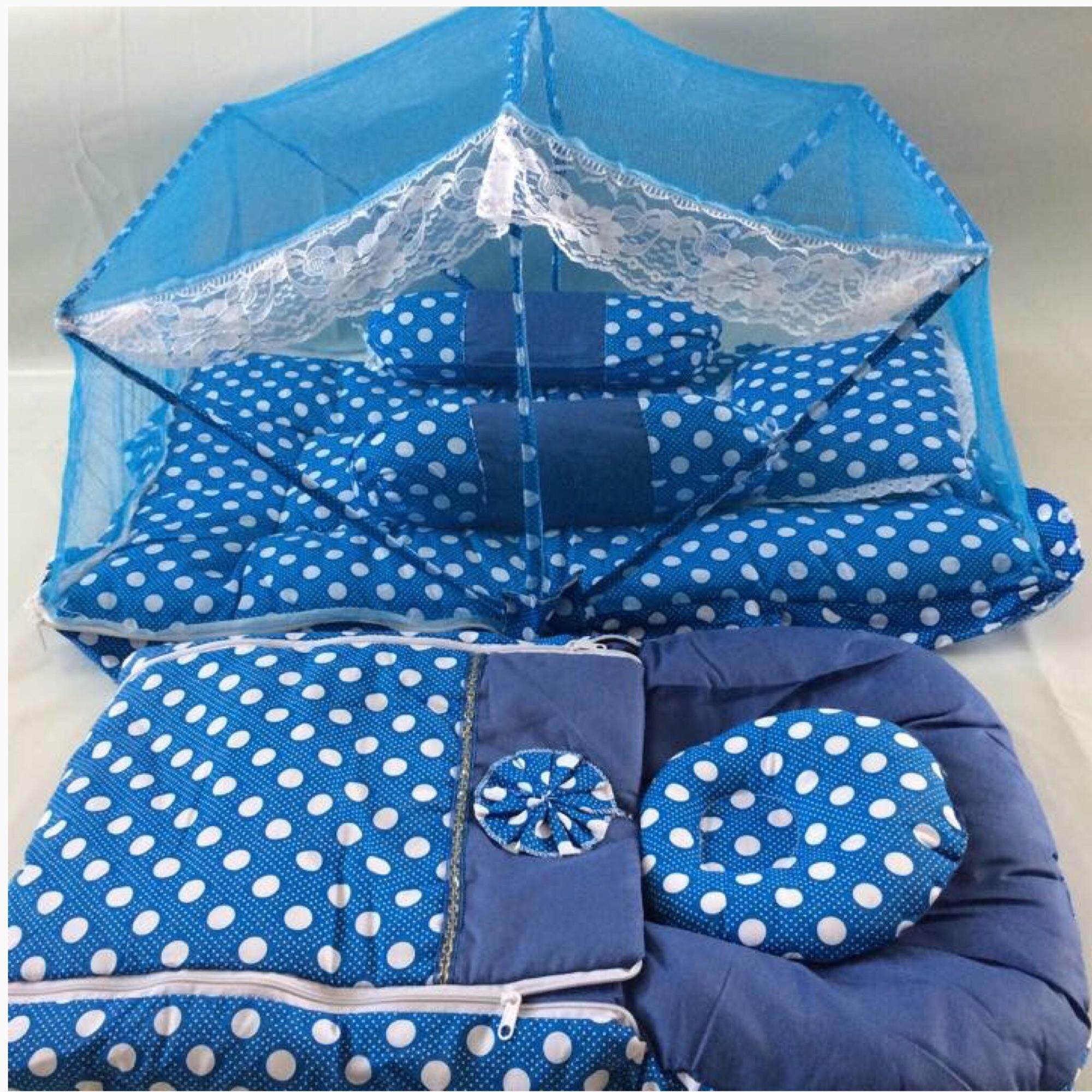Set Tilam Kelambu Baby & Sleeping Bag By Ahza Gemilang.