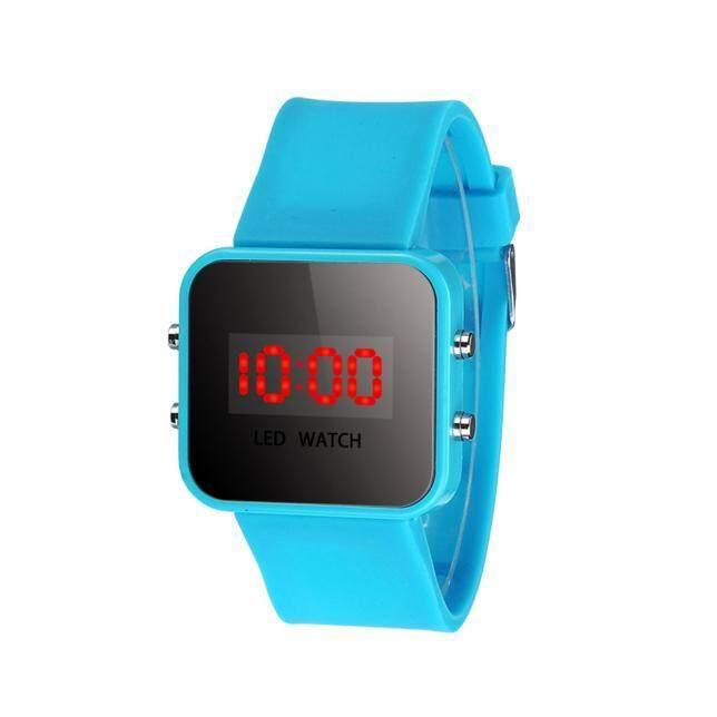 ELE LED Screen Digital Silicone Strap Girl Boy Quartz Sport Kids Wrist Watch HOT Waterproof Malaysia