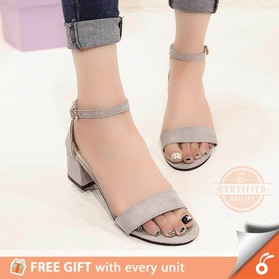 cf06bee46ae6ae 1001 HARPER Lady OL Women Open Toe Shoes Thick Mid High Heel Sandal Wedges  - FREE
