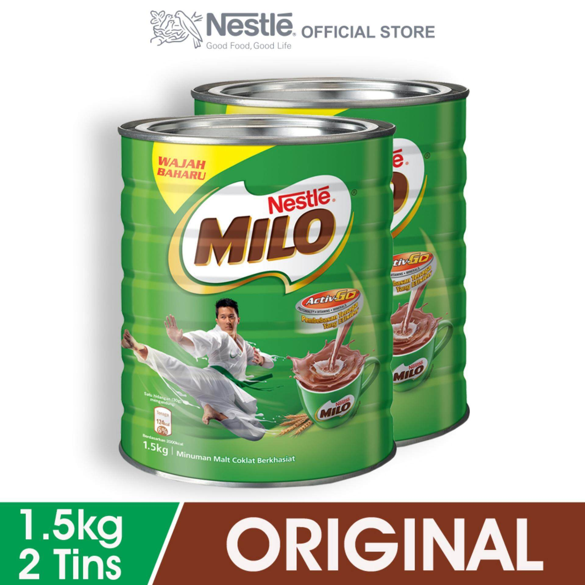 Nestle Products With Best Price At Lazada Malaysia Susu Bear Breand Plus Kurma Nestl Milo Activ Go Chocolate Malt Powder Tin 15kg X2 Tins