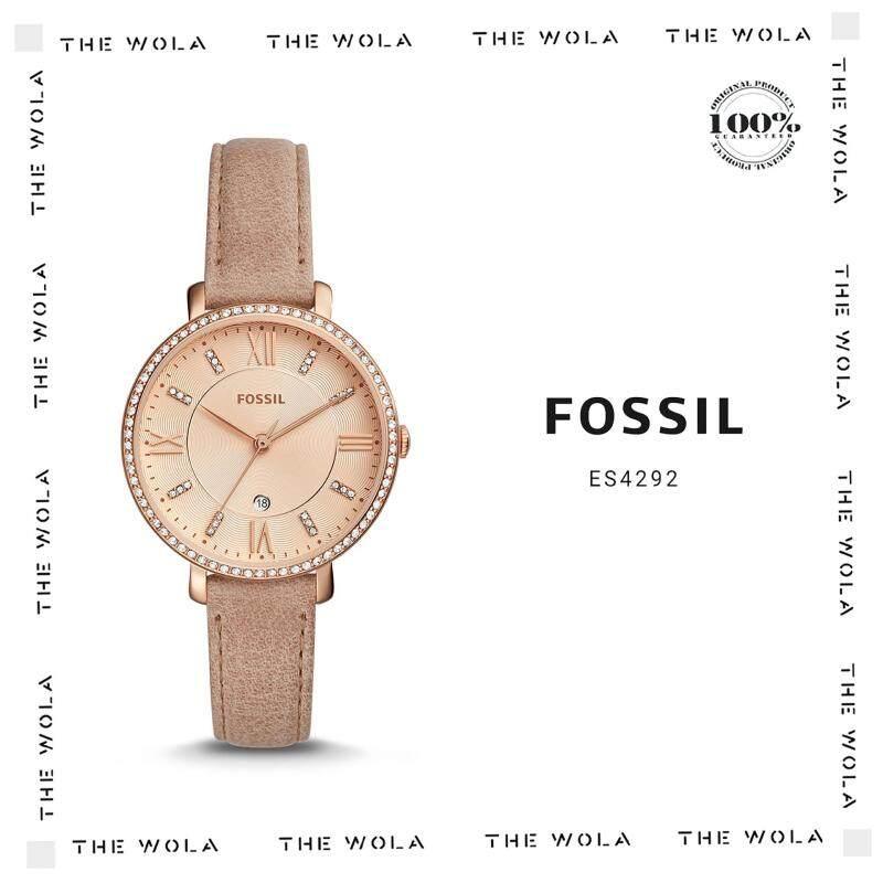 FOSSIL CASUAL WOMEN WATCH ES4292 Original & Genuine (2 Years Warranty) Malaysia