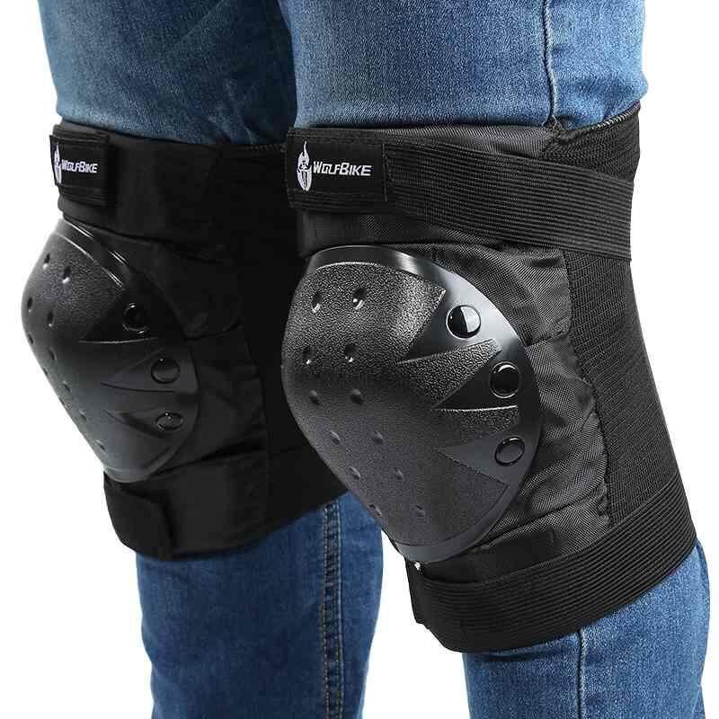 Kerui Motorcycle Protective Knee Pads Racing foot knee Protection Guard protectors Cycling Skating outdoor Sports kneepads