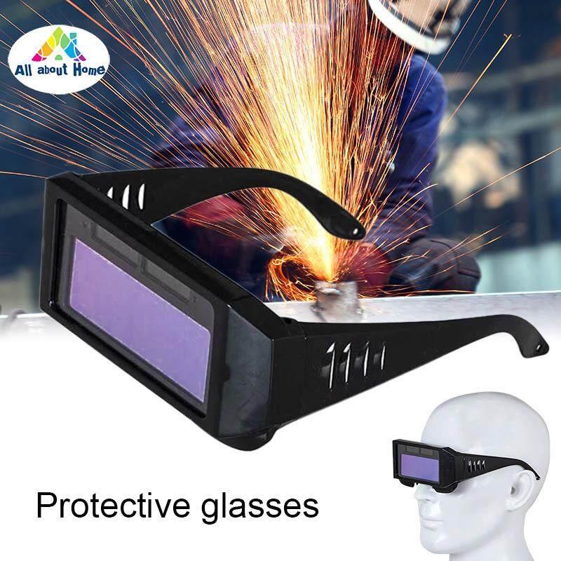 ABH Solar Powered Auto Darkening Welding Mask Helmet Eyes Goggle Welder Protective