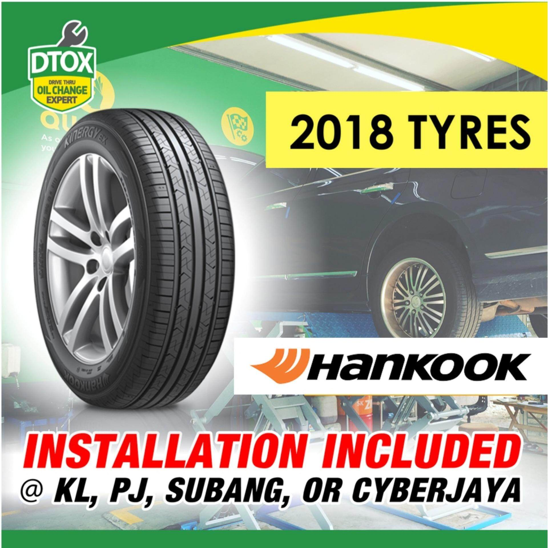 Hankook Kinergy Ex (h308) 165/60r14 Tyres (with Installation) By Dtox Car Service.