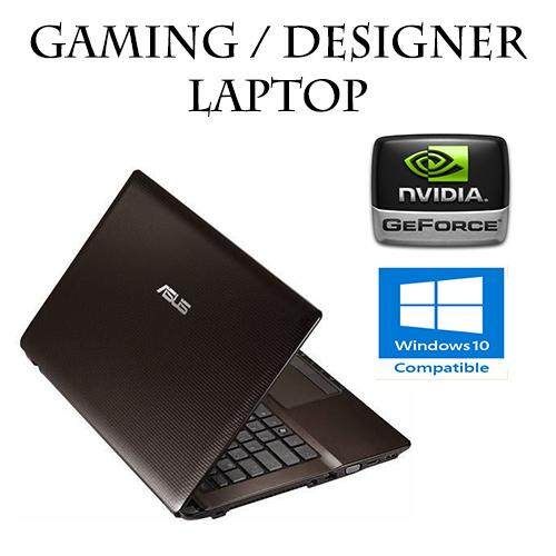 Asus A43S Intel Core I5 30ghz Nvidia 8GB 500GB Notebook Gaming Laptop Dota2 CSGO Refurbished Malaysia