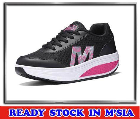 393ac45f0a86 MALAYSIA READY STOCK-Women Casual Comfy Sports Running Sneakers Outdoor  Shoes