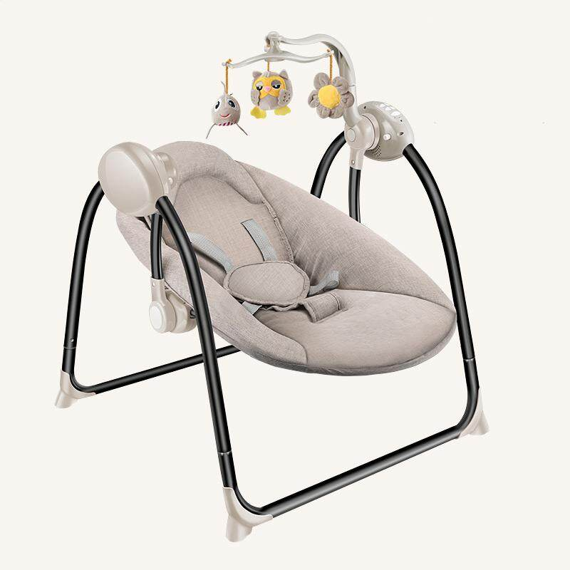 a693200c1 Baby electric rocking chair baby cradle reclining coax baby artifact sleepy  newborn comfort chair shake sound