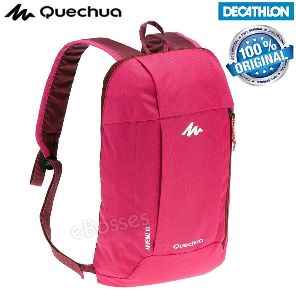 b1808f0ec9b5  Ready Stock  Original Quechua Arpenaz 10 L Bag Hiking Travel Backpack  Lightweight