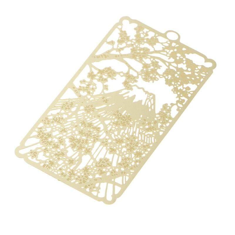 BolehDeals Classic Hollow Out Metal Bookmark Stationery Metal School Bookmark Flower Malaysia