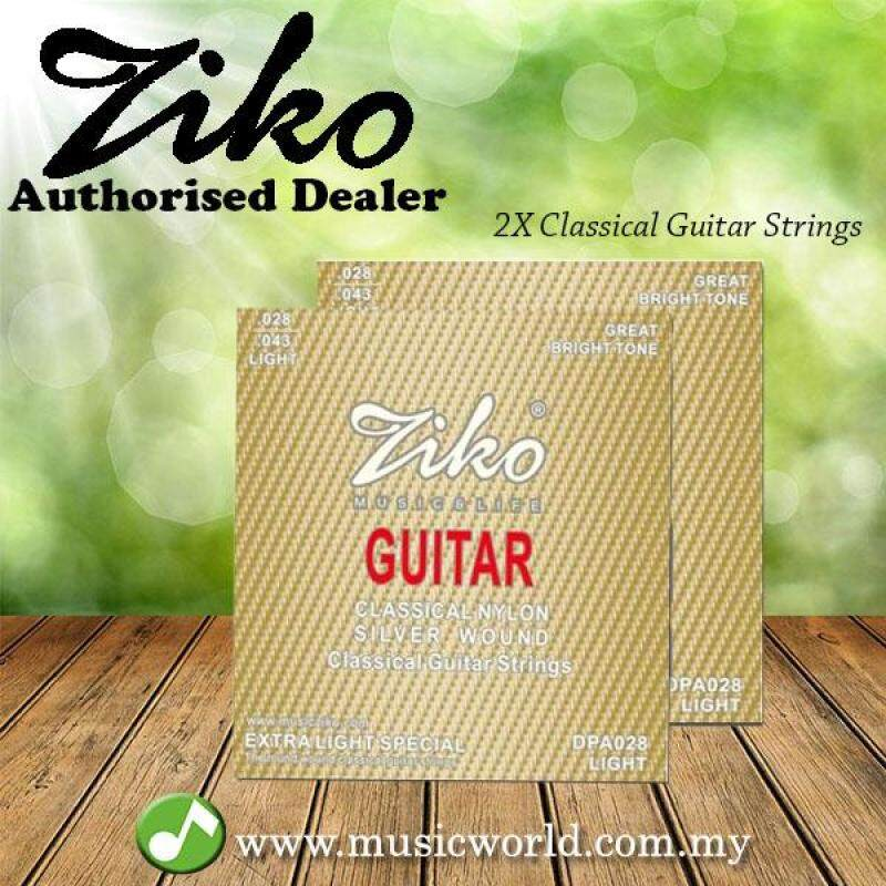 ZIKO STRING DPA028 Nylon 2 Classical Guitar Strings set Malaysia