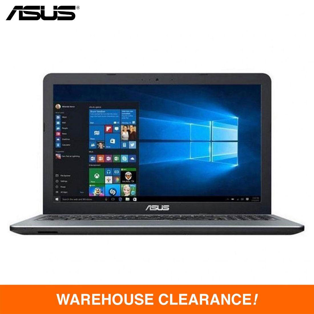 ASUS® VivoBook X441U-RGA053T Laptop - Intel Core i5-7200U, 2.50Ghz, 4GB DDR4, 1TB, 14-inch LED, NVD GT930MX 2GB DDR3, DVDRW, Windows 10 64bit (Silver) Malaysia