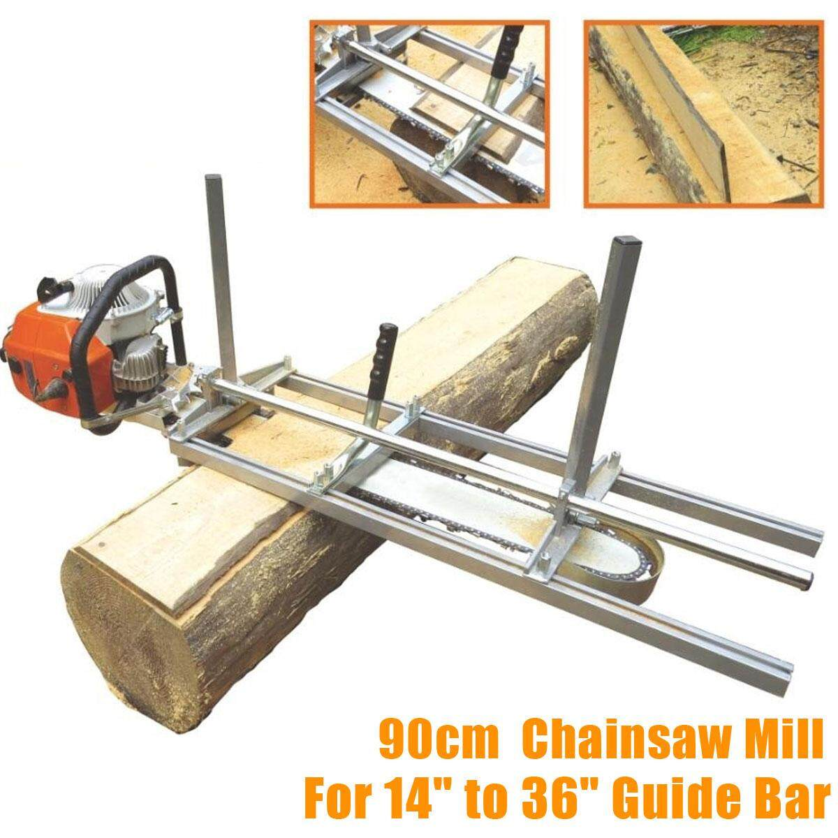 90cm Portable Chainsaw Mill Planking Milling suits up From 14 - 36 Guide Bar