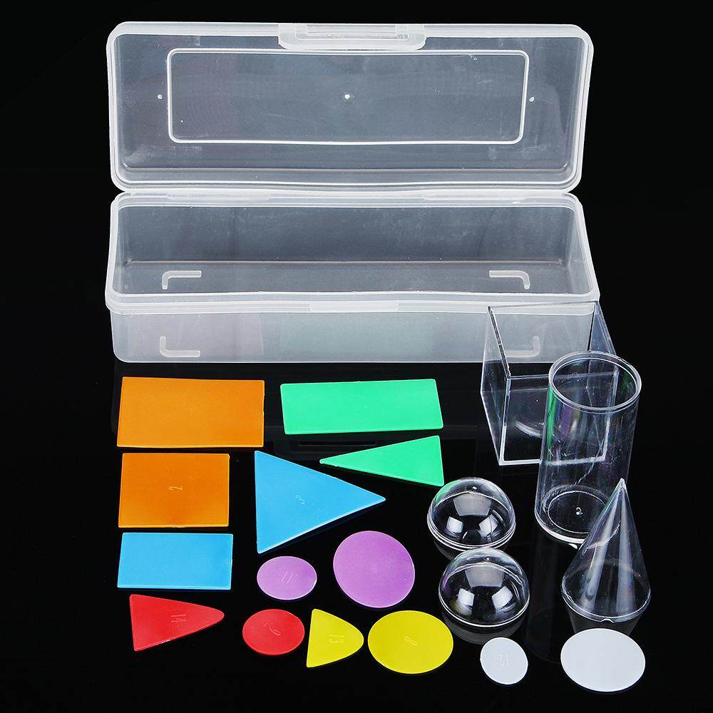 Cross-Section of Geometric Solids Exploring Geometry Manipulatives Mathematics Game Toys