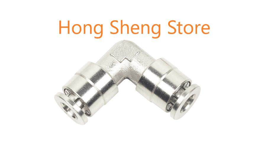 Bpv 6mm X 6mm Push In Union Elbow Pneumatic Air One Touch Quick Fitting By Hong Sheng Store.