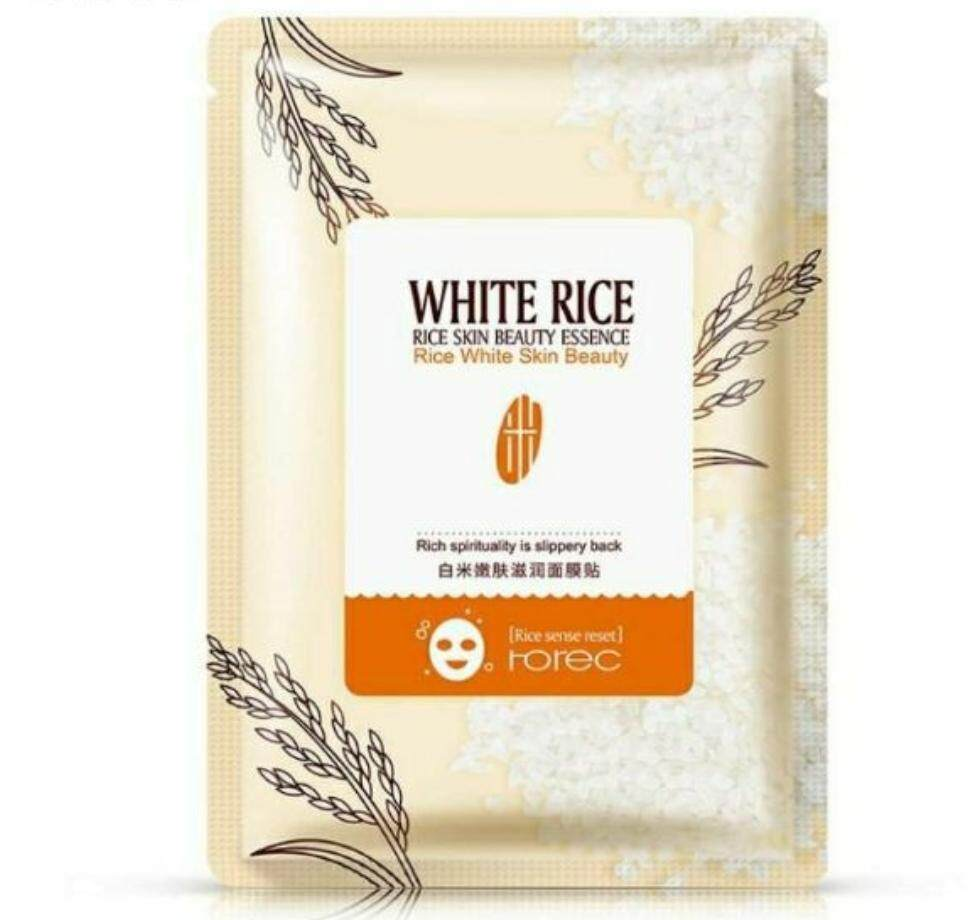 Buy Sell Cheapest Rorec Hello Kitty Best Quality Product Deals Natural Skin Care Pomegranate White Rice Face Mask 5pcs