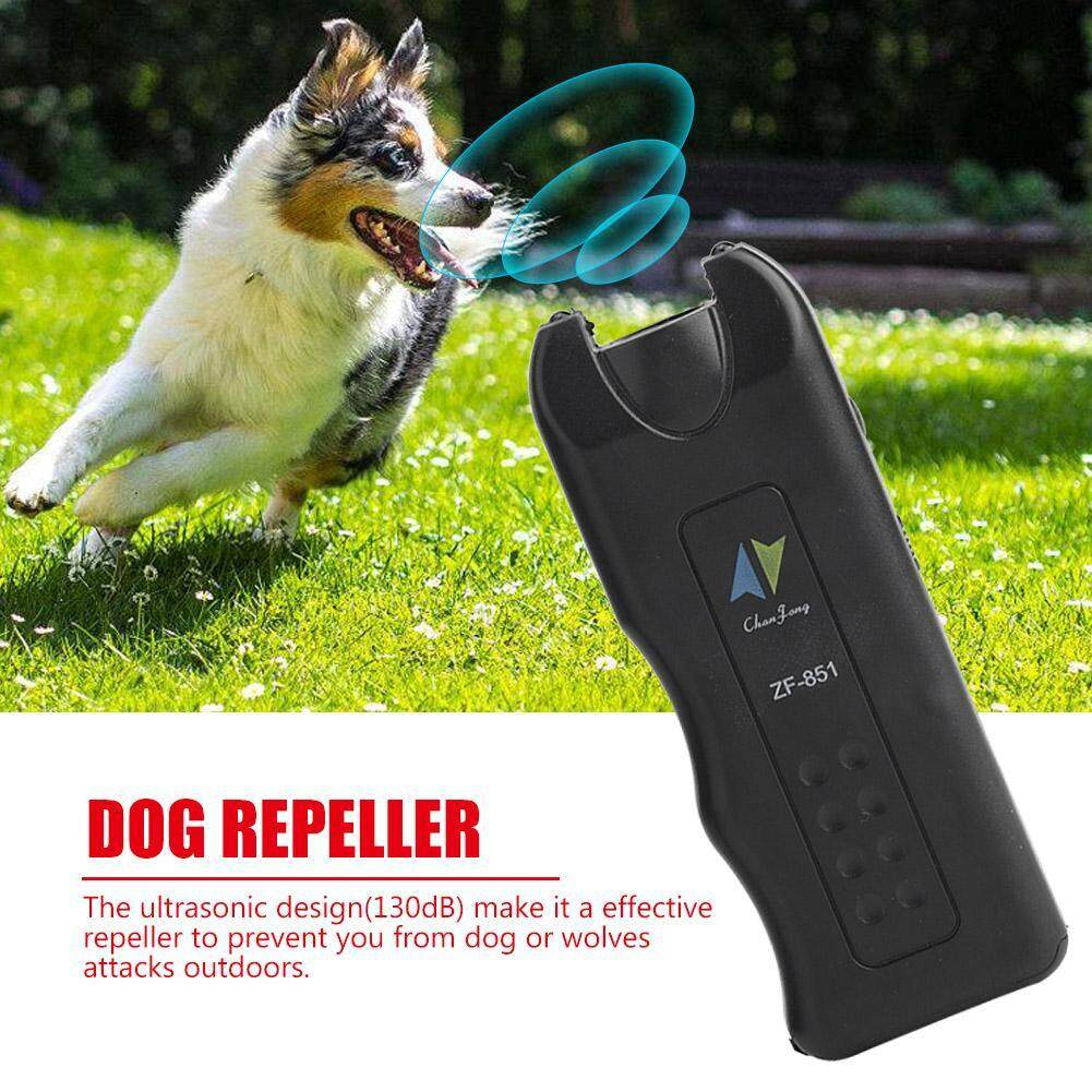 Multifunctional Ultrasonic Dog Repeller Anti Barking Stop Bark Training Device Led Torch By Minxin.
