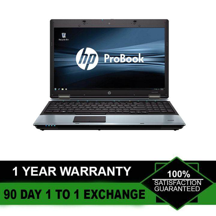 (Refurbished Notebook) HP Probook 6550b 15.6 inch Laptop / Intel Core i5-450M / 250GB Hard Disk / 4GB Ram / DVD Writer / WIndows 7 / Factory Refurbished Malaysia