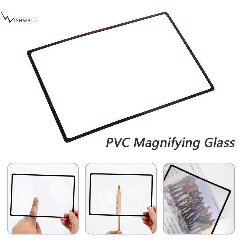 Wishmall Glass Lens Magnifying Glass Magnifying Lens Transparent PVC Durable
