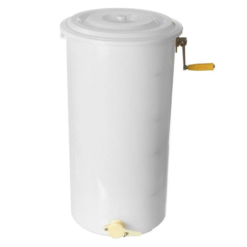 Honey Extractor Plastic Two 2 Frame Tangential Manual Crank Spinner Beekeeping