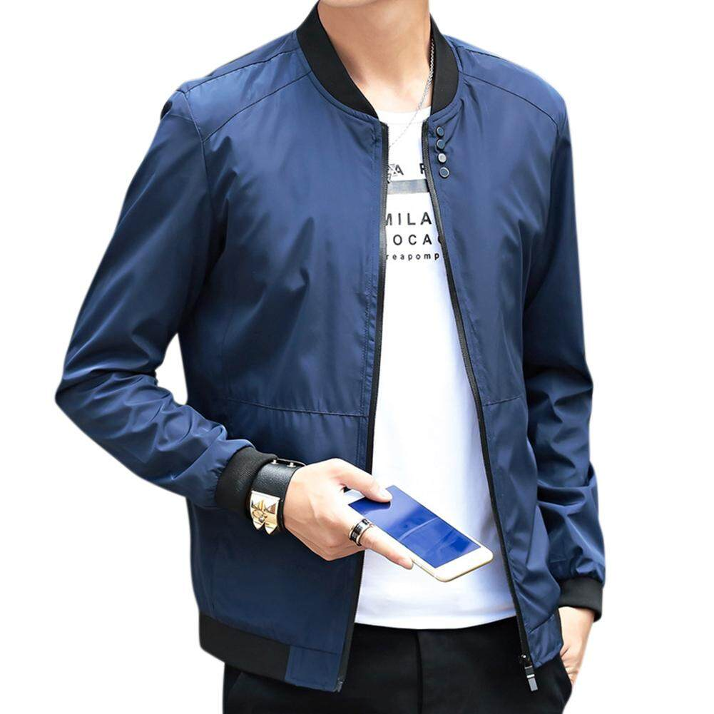 Mens Leather Jackets For The Best Prices In Malaysia Jaket Bomber Pria Big Size Xxxl Jumbo Xl Xxl Sizem Xxlm L Plus Men Simple Casual Baseball