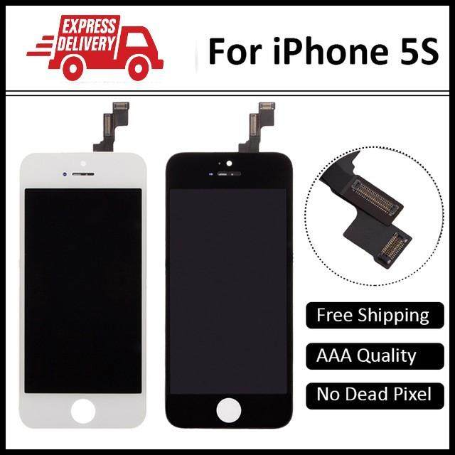 Iphone 5s LCD Display Touch Screen Digitizer (High Quality Grade AAA+)Free  Tempered Glass 08e5fdcc82