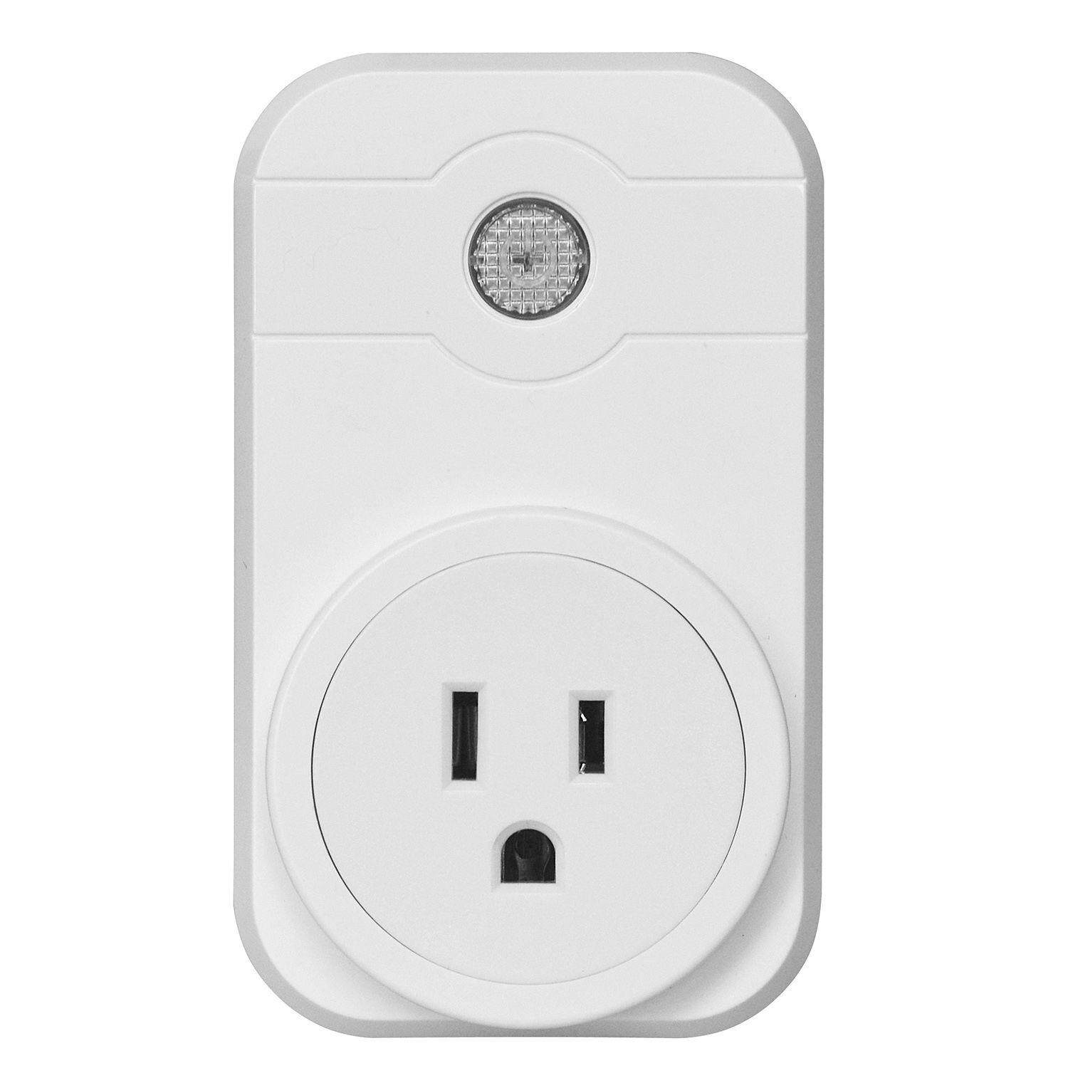 Smart Wifi Outlet Alexa App Remote Control Timer Switch Home Socket with US Plug