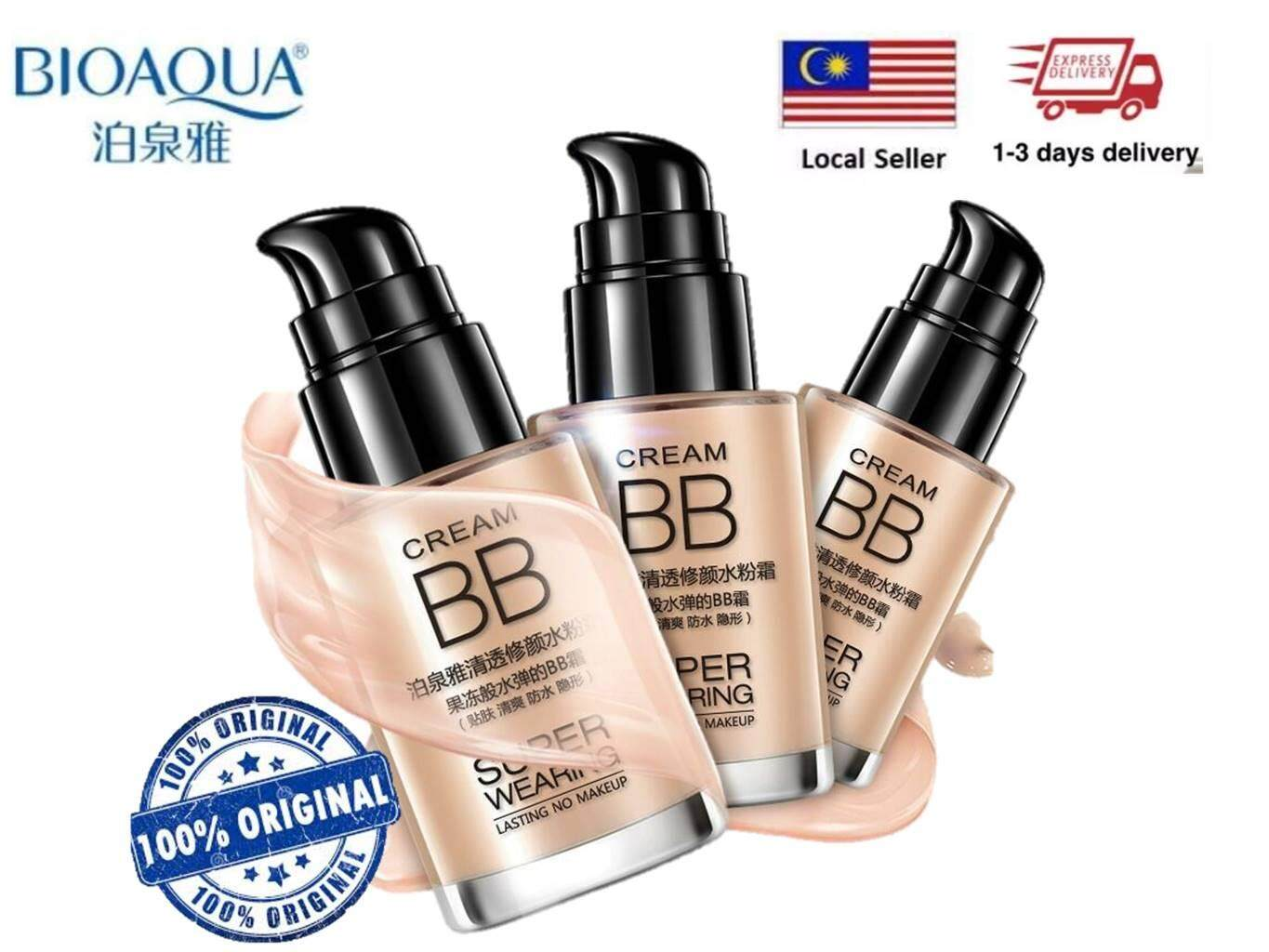 Face Makeup Bb Cc Cream Buy At Ivory White 02 Bioaqua Cushion Exquisite Delicate Plus Refill 100 Original Super Wearing Persistent Water Flawless 30ml