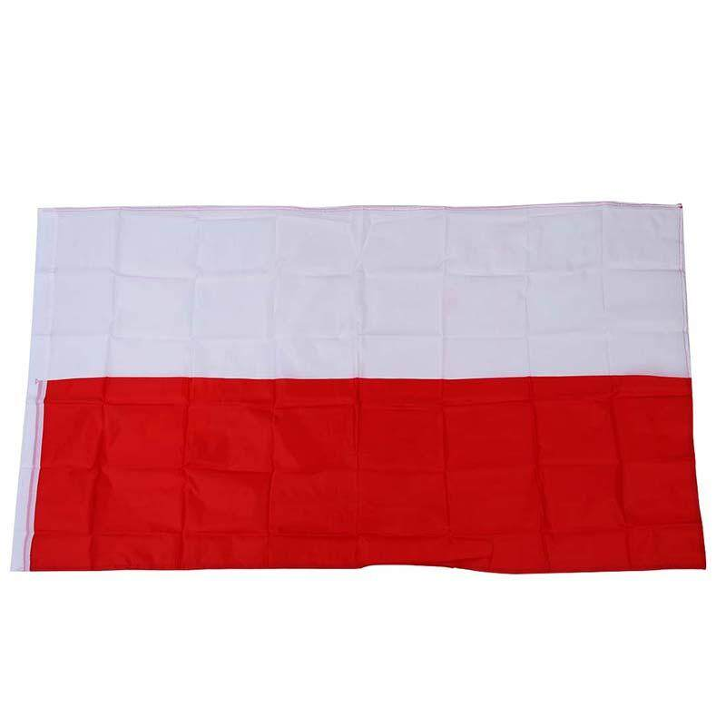 Large 90x150cm 5 x 3FT National Supporters Sports Olympics Flags With Grommet - Polish flag