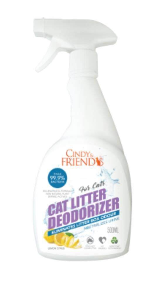 Cindy & Friends Cat Litter Deodorizer 500ml Lemon By Df Pet Grocery.