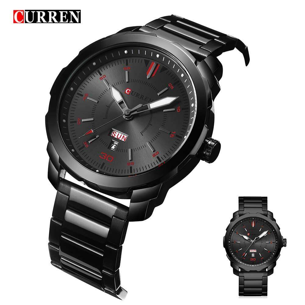 Curren 8266 top brand luxury Watch Men quartz watch fashion casual alloy wristwatches Malaysia
