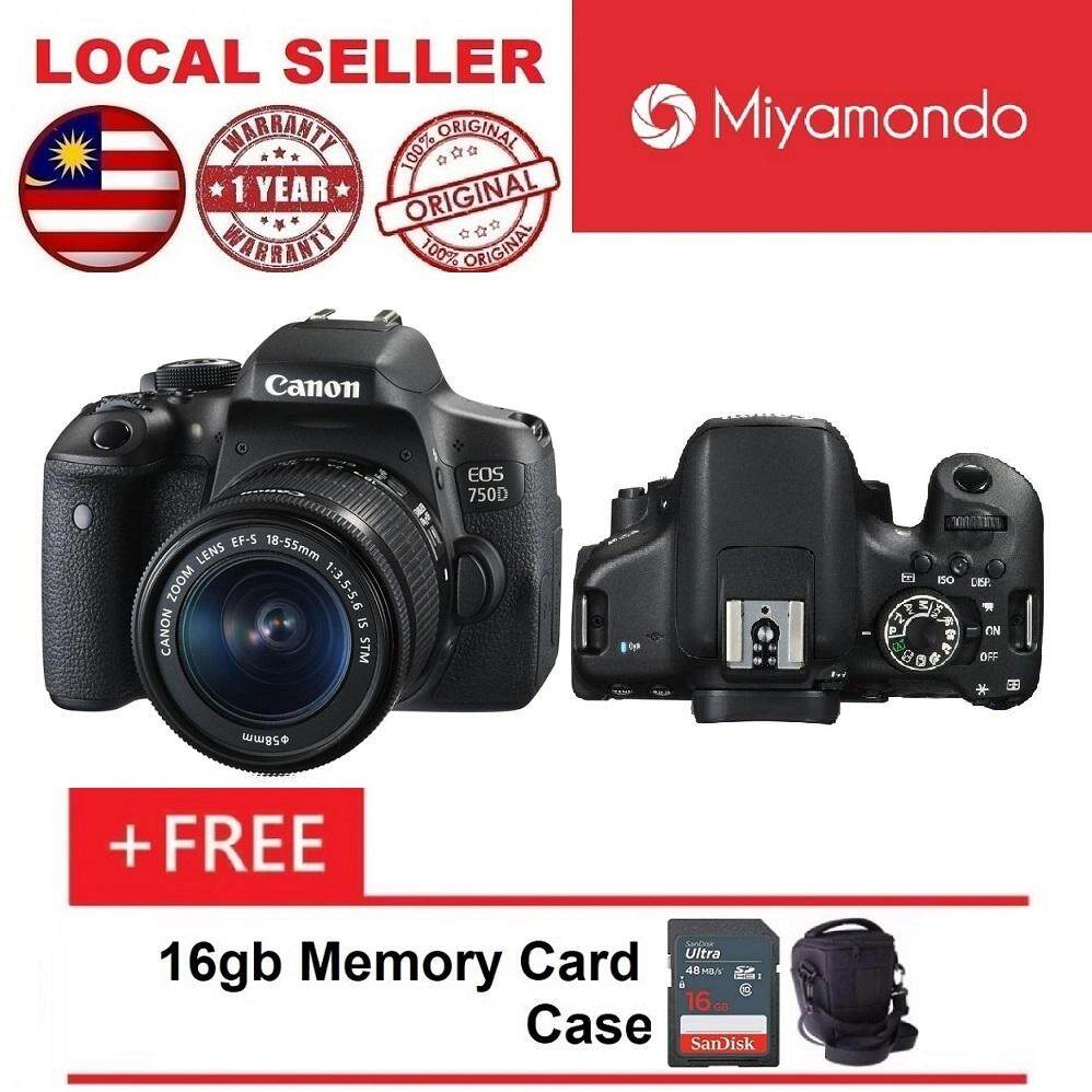 Canon Cameras Dslrs Slrs Price In Malaysia Best Eos 80d Wi Fi Dslr Camera With 18 200mm 750d 55mm Lens Kit 16gb Bag