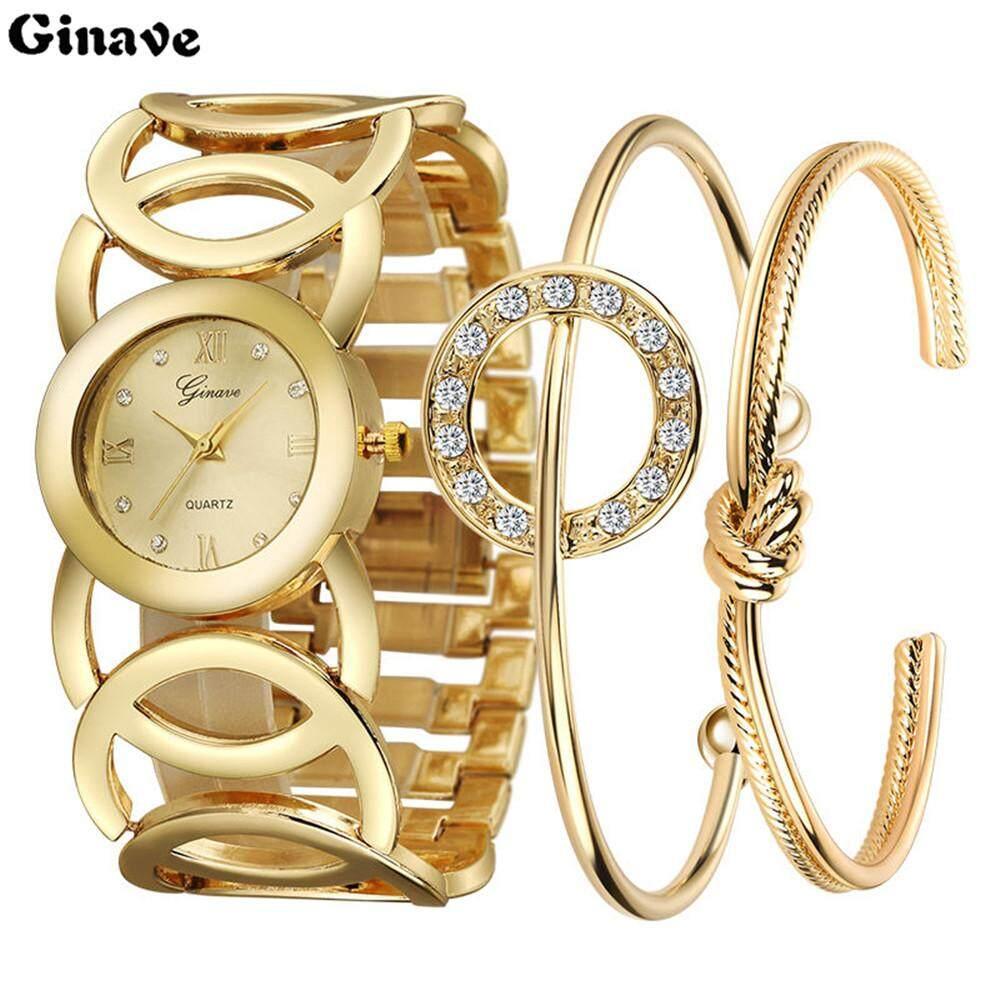 Analog Womens Wristwatchfashion Ladies Watch Stainless Steel Analog Analog Watch Bracelet New By Goldenfashionie.